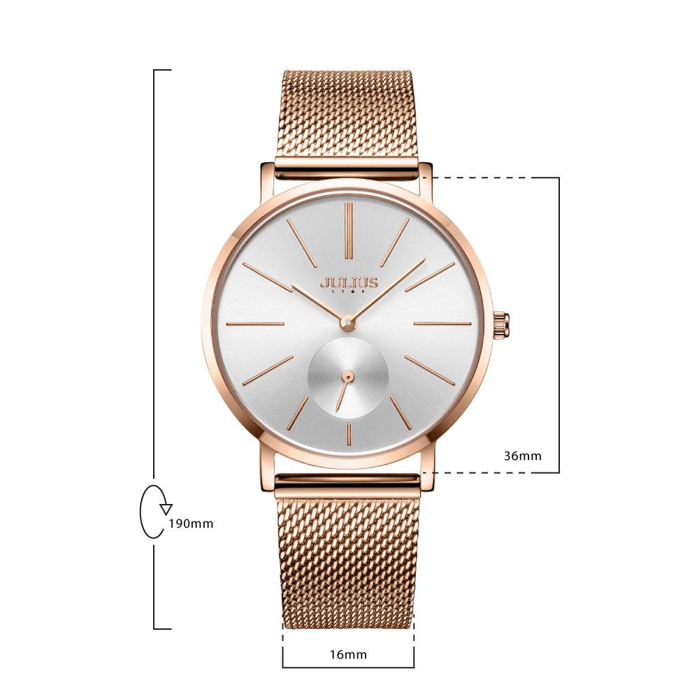 นาฬิกาข้อมือผู้หญิง JULIUS STAR 022 B