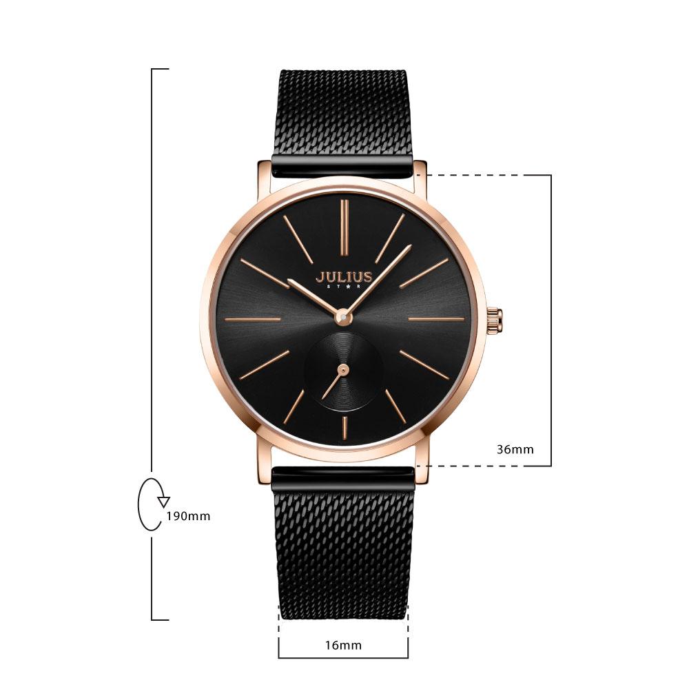 นาฬิกาข้อมือผู้หญิง JULIUS STAR 022 D