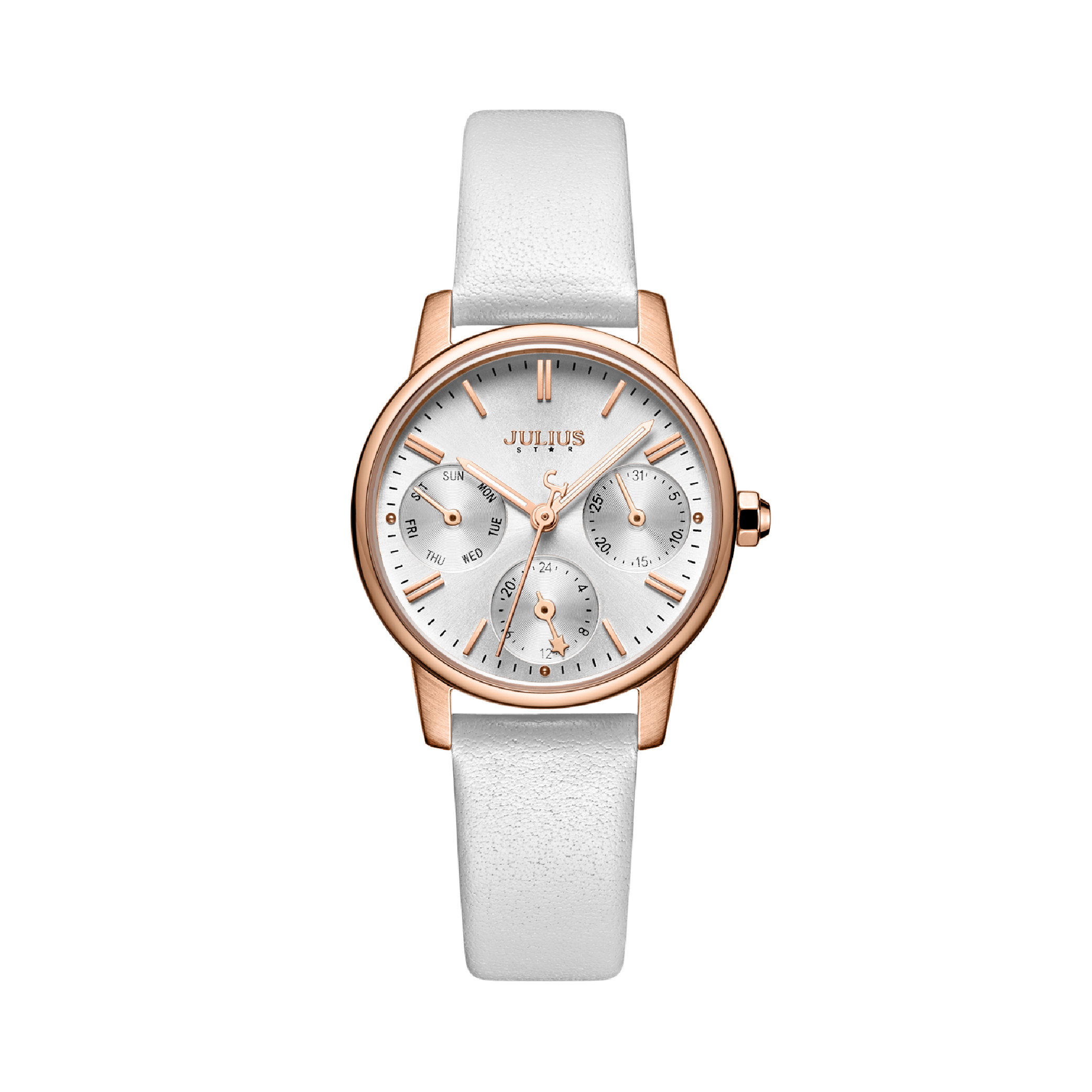 นาฬิกาข้อมือผู้หญิง JULIUS STAR 023A