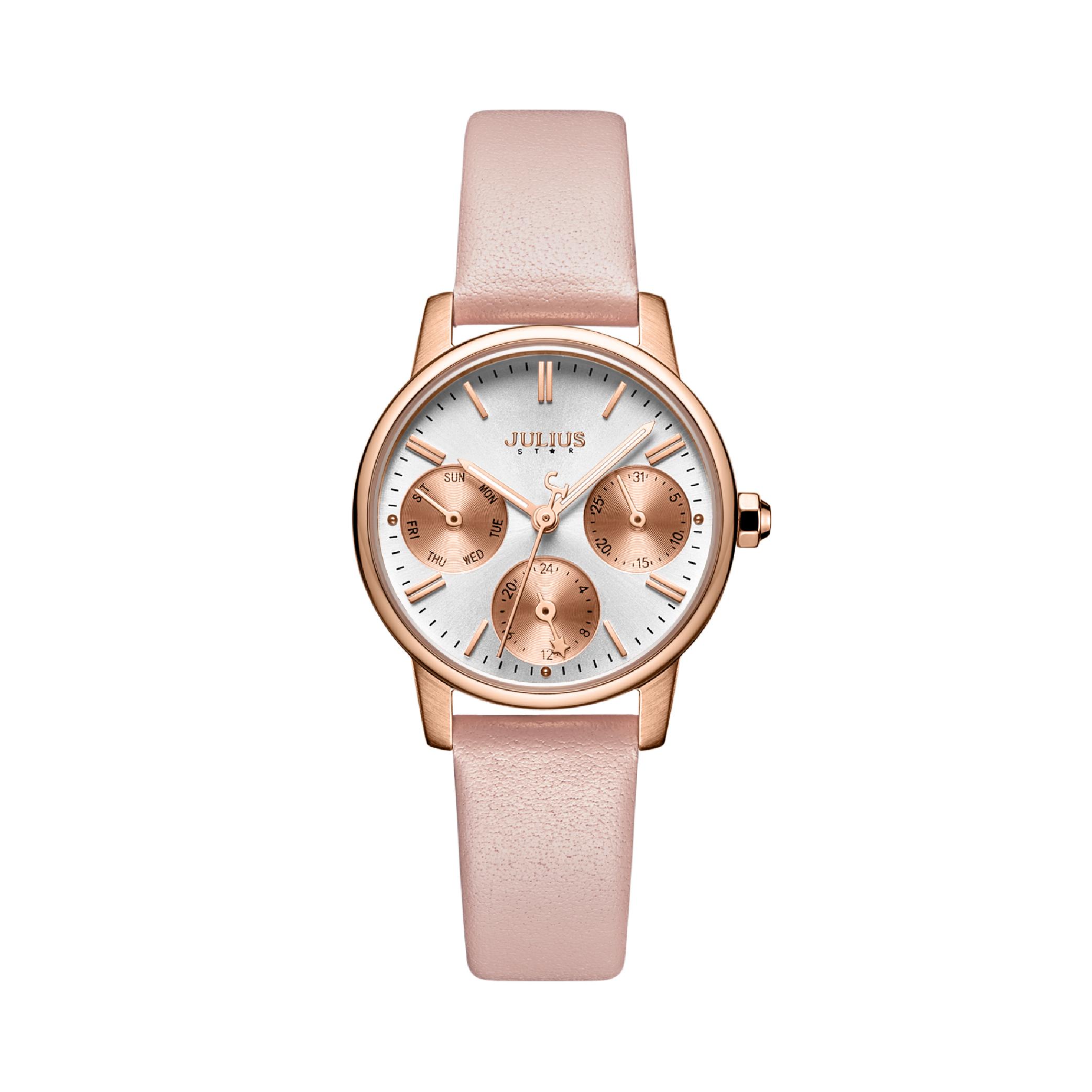 นาฬิกาข้อมือผู้หญิง JULIUS STAR 023B