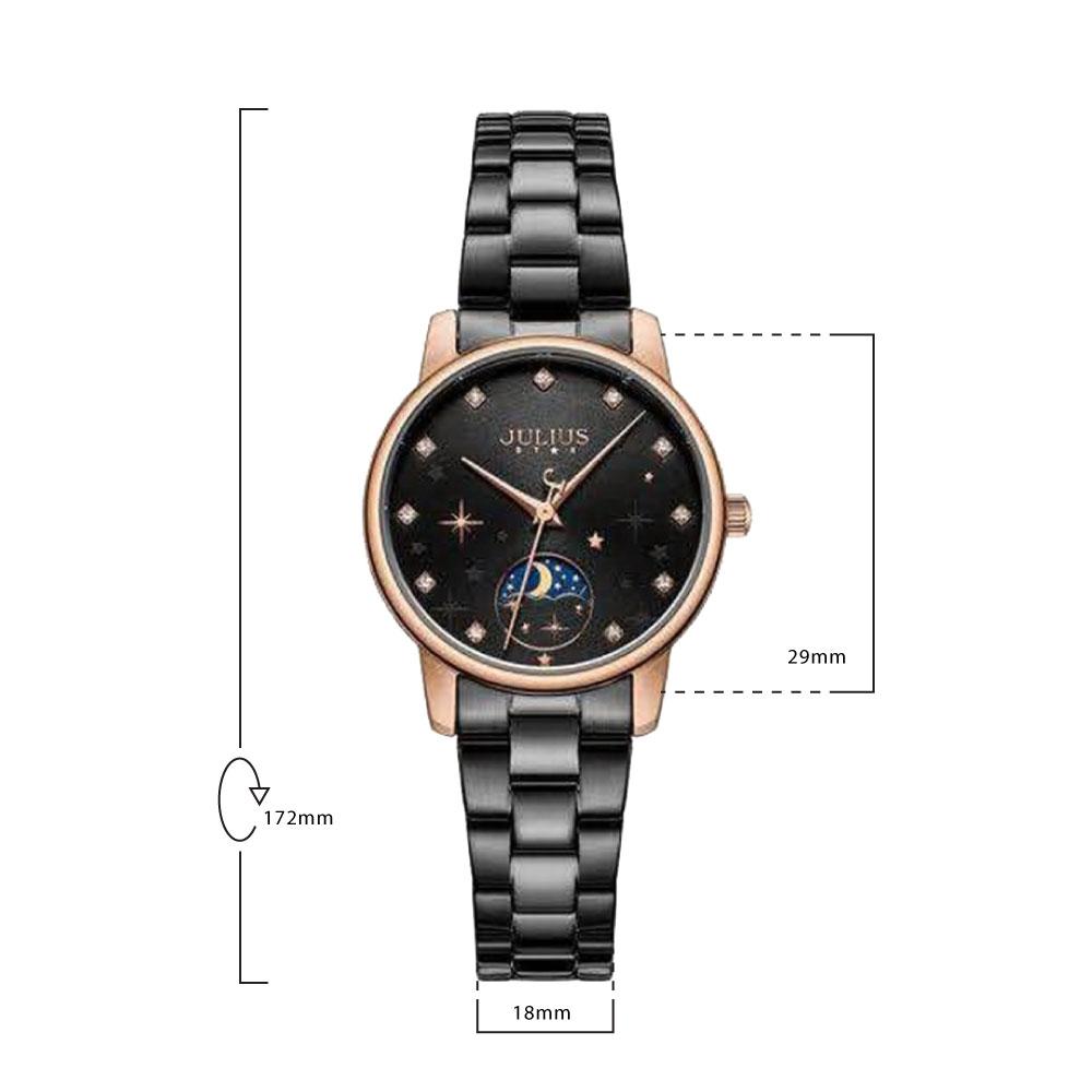 นาฬิกาข้อมือผู้หญิง JULIUS STAR JS-029 D