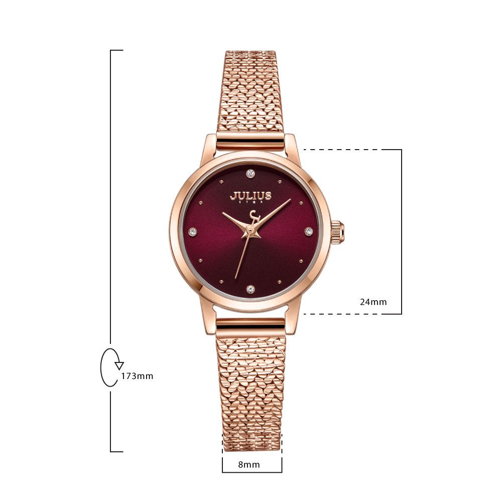 นาฬิกาข้อมือผู้หญิง JULIUS STAR 045 B