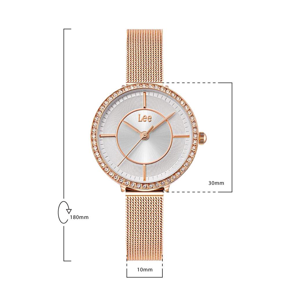 นาฬิกาข้อมือผู้หญิง LEE LEF-F117DRDR-7R