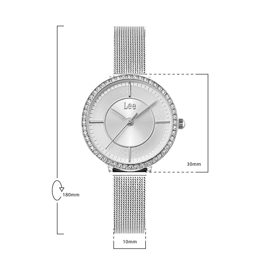 นาฬิกาข้อมือผู้หญิง LEE LEF-F117DSDS-7S