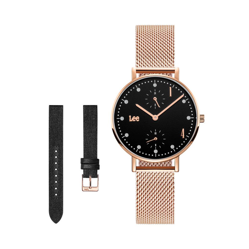 นาฬิกาข้อมือผู้หญิง LEE LEF-F138DRV1-1R
