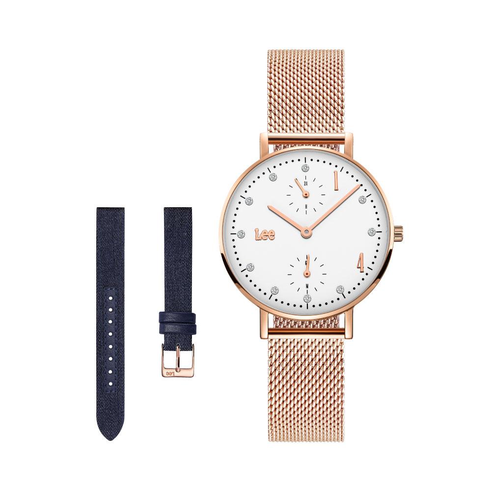 นาฬิกาข้อมือผู้หญิง LEE LEF-F138DRV2-7R