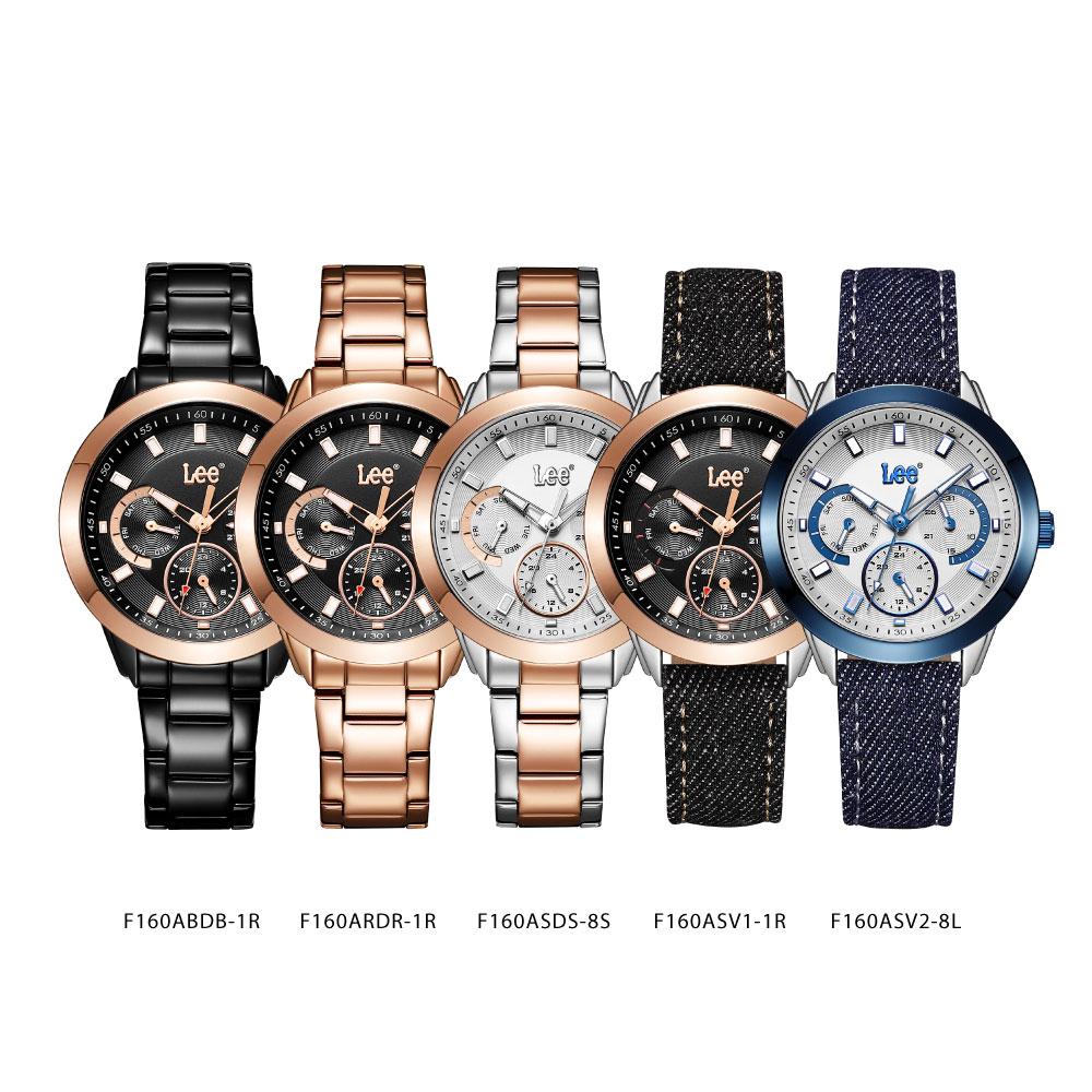 นาฬิกาข้อมือผู้หญิง LEE LEF-F160ASV1-1R