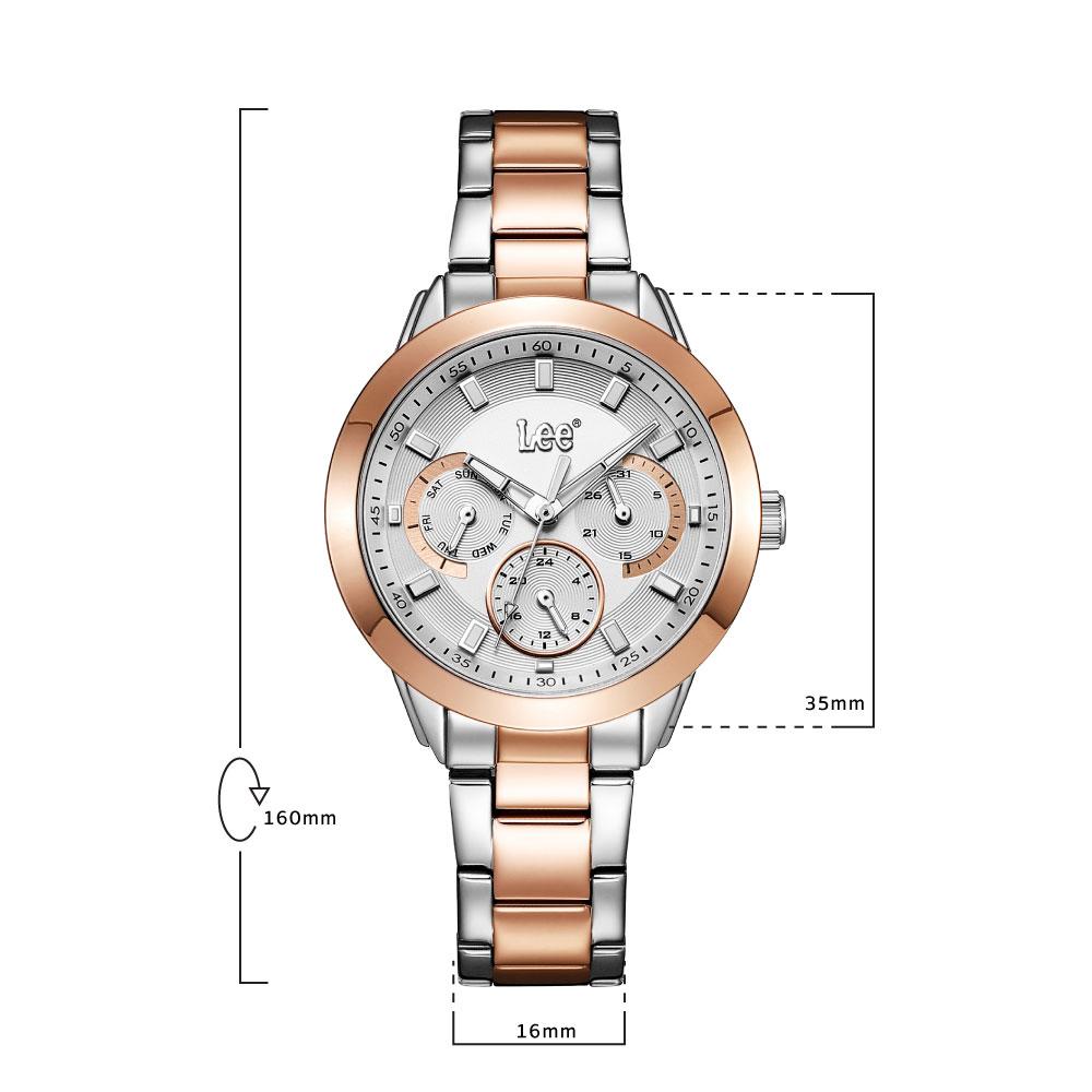นาฬิกาข้อมือผู้หญิง LEE LEF-F160ASDS-8S