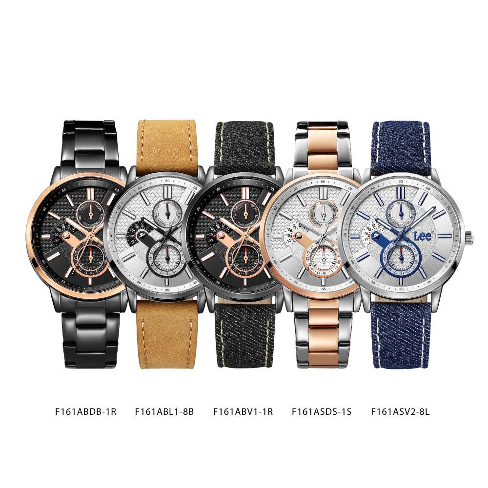 นาฬิกาข้อมือผู้หญิง LEE LEF-F161ASV2-8L