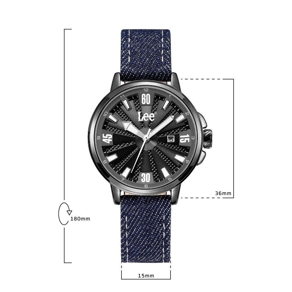นาฬิกาข้อมือผู้หญิง LEE LEF-F163ABV2-1S