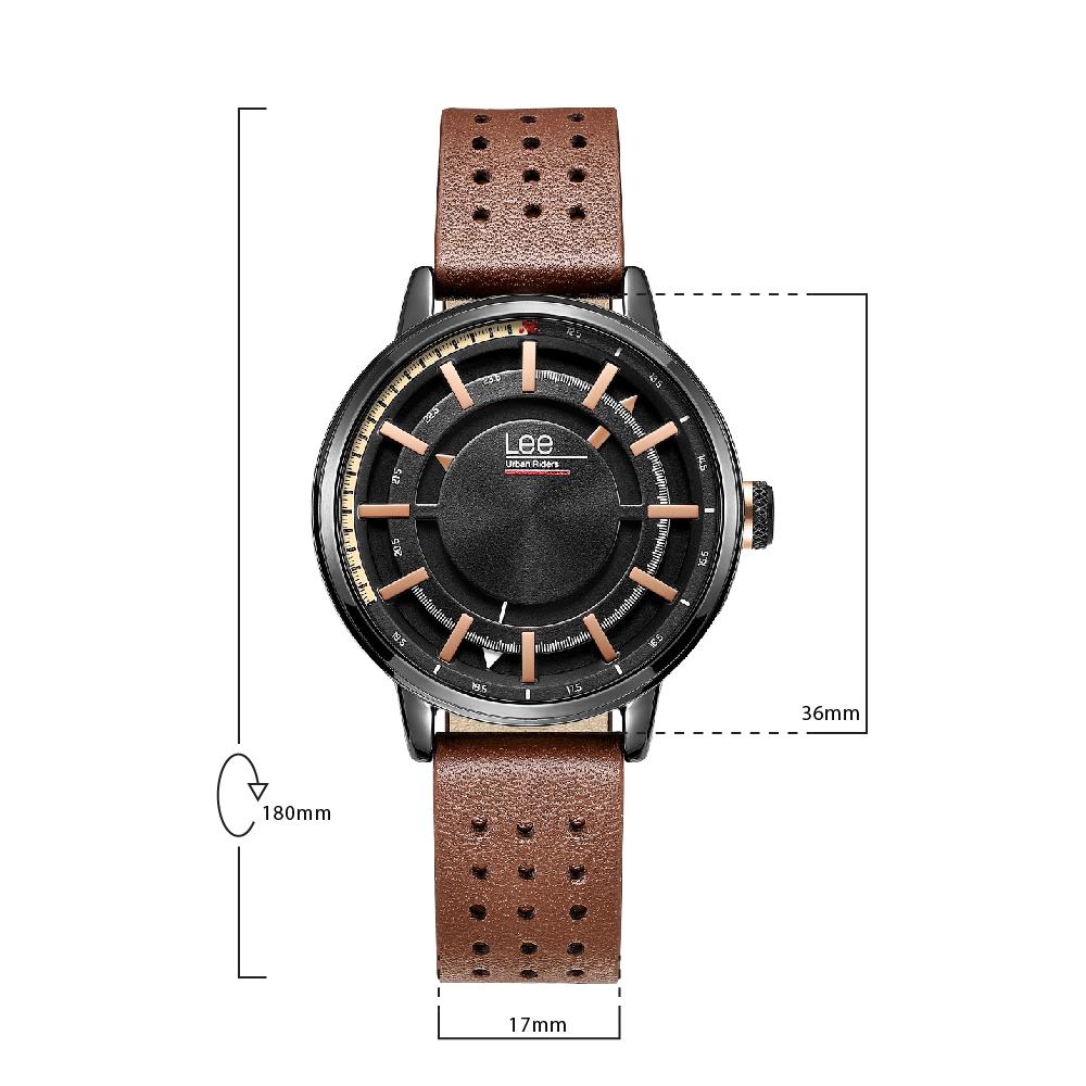 นาฬิกาข้อมือผู้หญิง LEE LEF-F164ABL5-1R