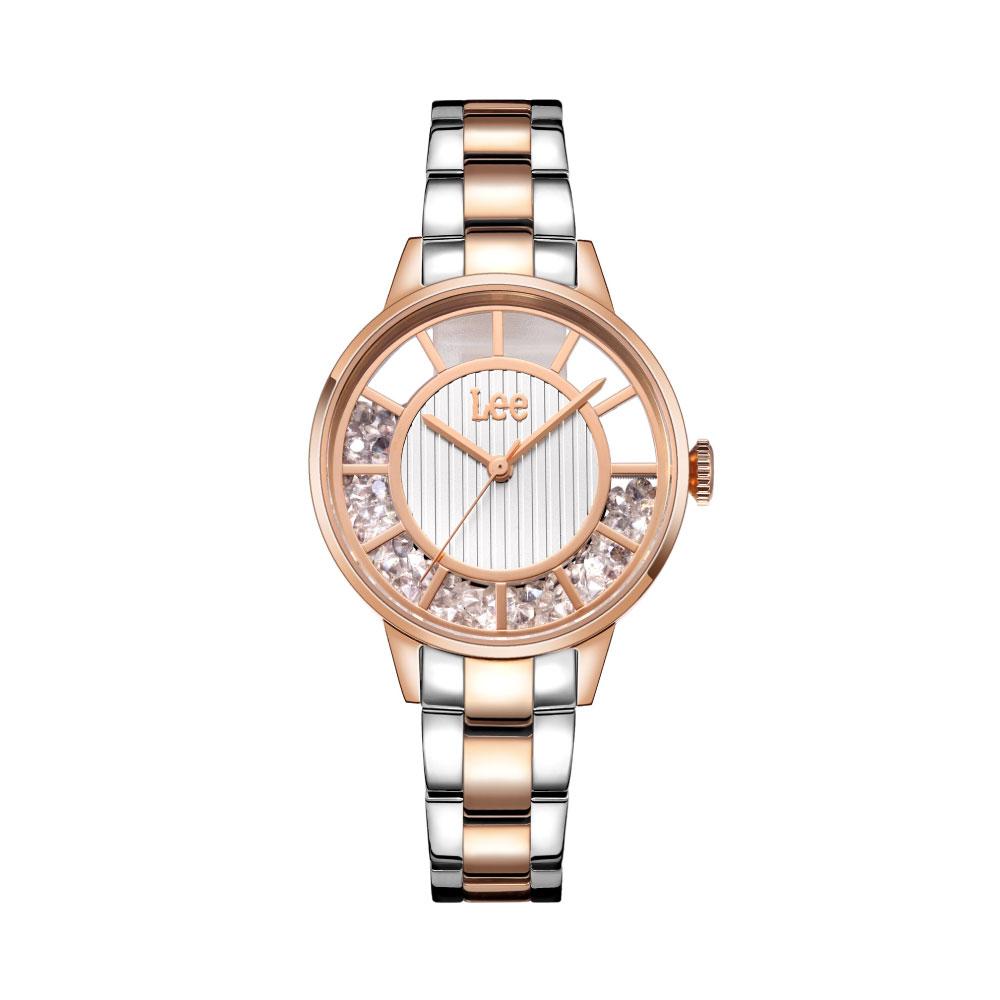 นาฬิกาข้อมือผู้หญิง LEE LEF-F17DRDR-7R