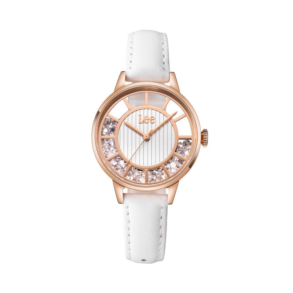 นาฬิกาข้อมือผู้หญิง LEE LEF-F17DRL7-7R