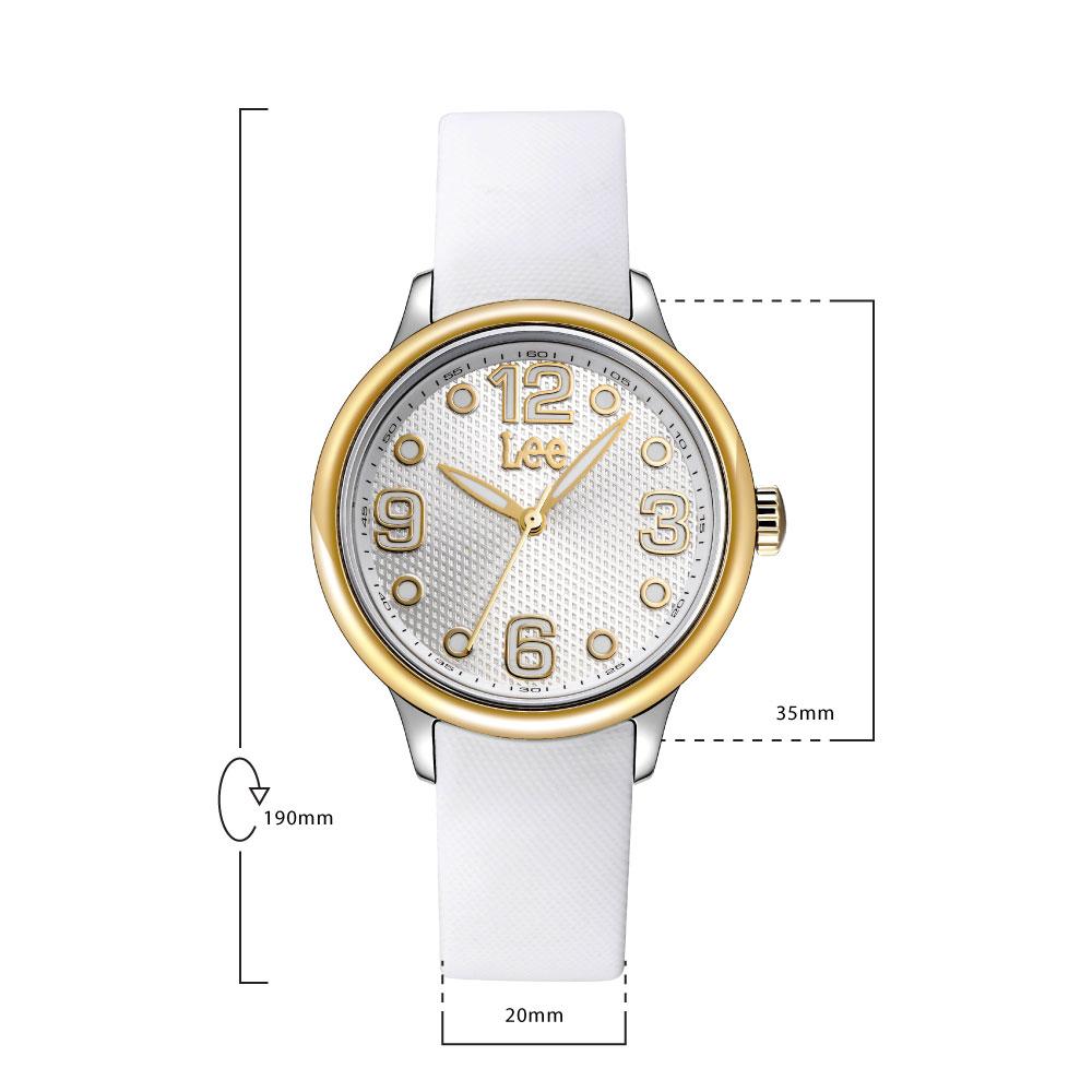 นาฬิกาข้อมือผู้หญิง LEE LEF-F27Q7P7-7G