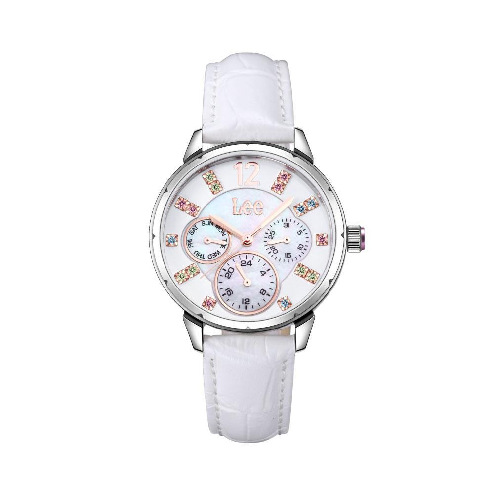 นาฬิกาข้อมือผู้หญิง LEE LEF-F39DSL7-7R