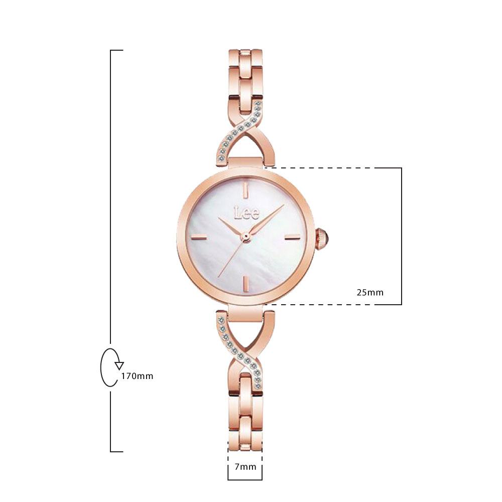 นาฬิกาข้อมือผู้หญิง LEE LEF-F49DRDR-7R