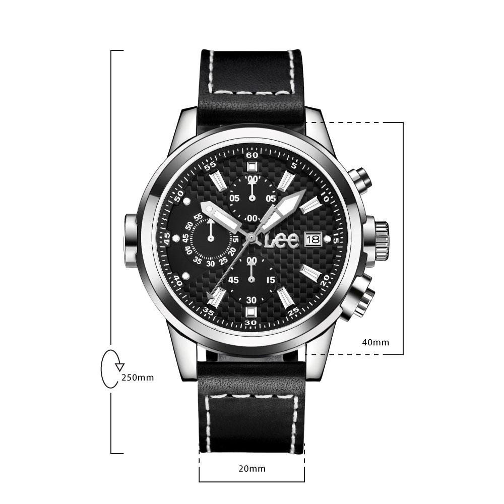 นาฬิกาข้อมือผู้ชาย LEE LES-M01DSL1-1S