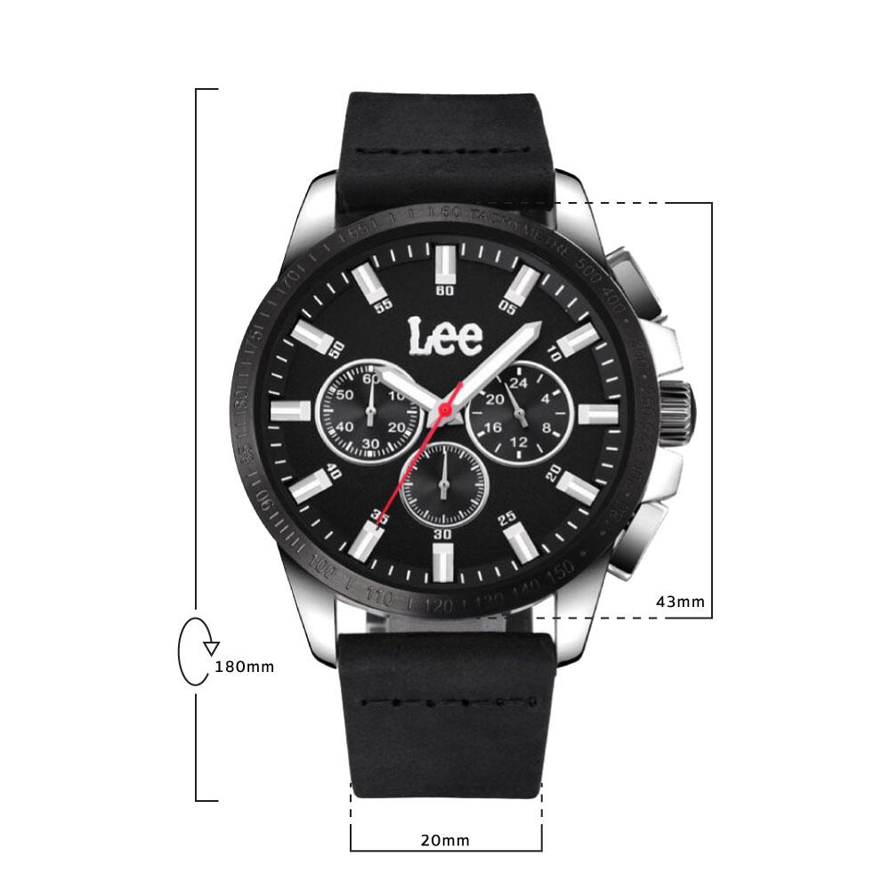 นาฬิกาข้อมือผู้ชาย LEE LES-M03DSL1-1S