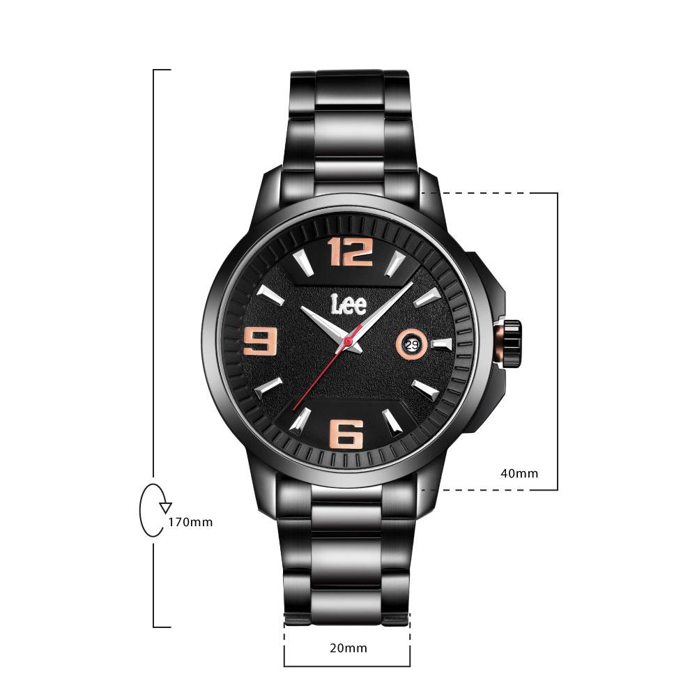 นาฬิกาข้อมือผู้ชาย LEE LES-M06BBDB-1R