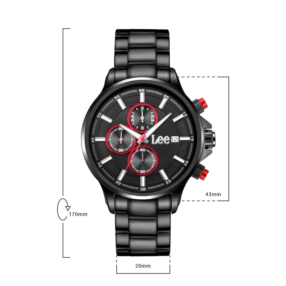 นาฬิกาข้อมือผู้ชาย LEE LES-M07DBDB-14