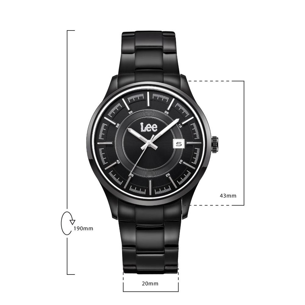 นาฬิกาข้อมือผู้ชาย LEE LEF-M11DBDB-1S