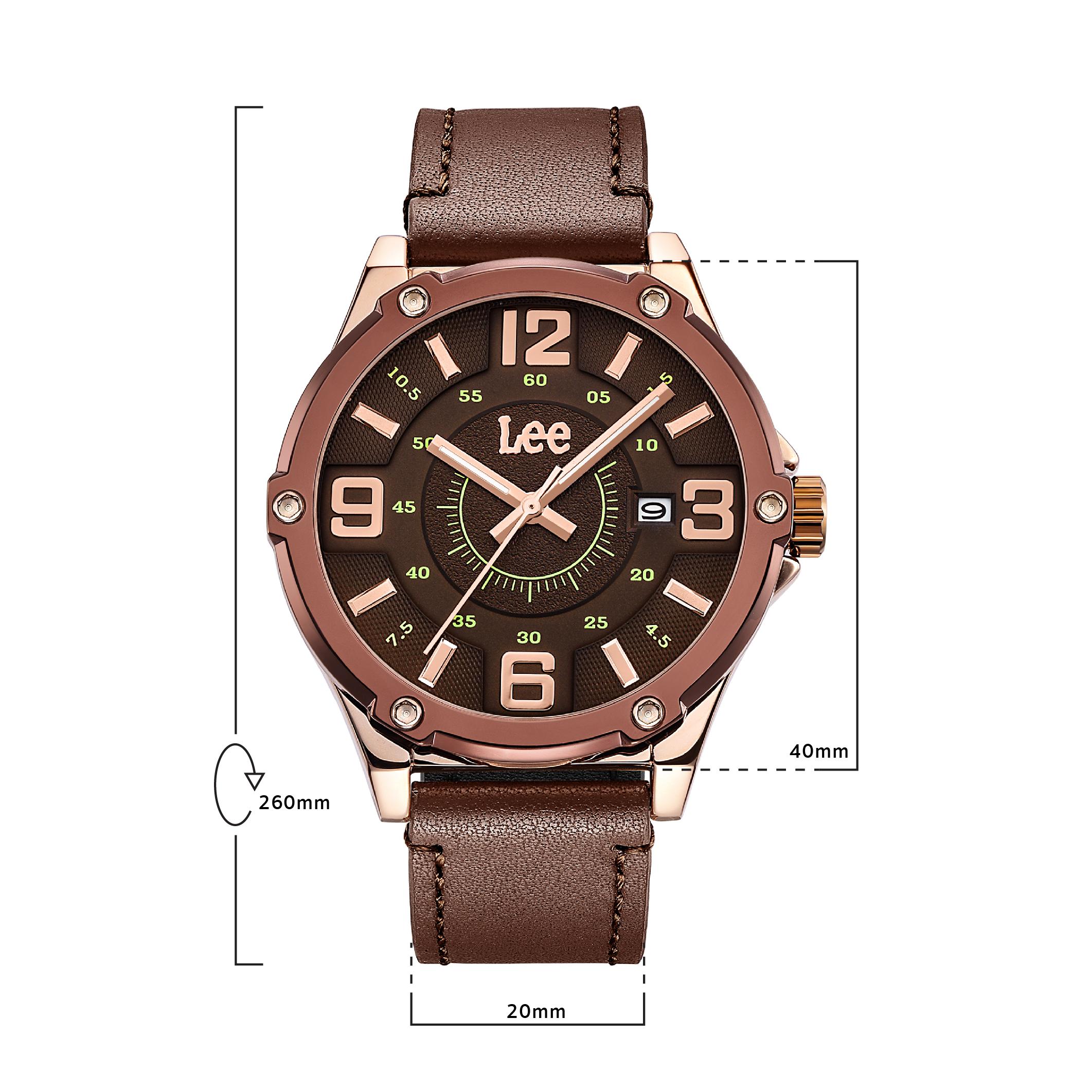 นาฬิกาข้อมือผู้ชาย LEE LEF-M128ARL5-5R
