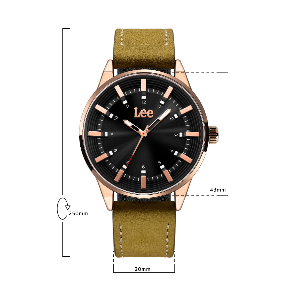 นาฬิกาข้อมือผู้ชาย LEE LEF-M143ARL5-1R