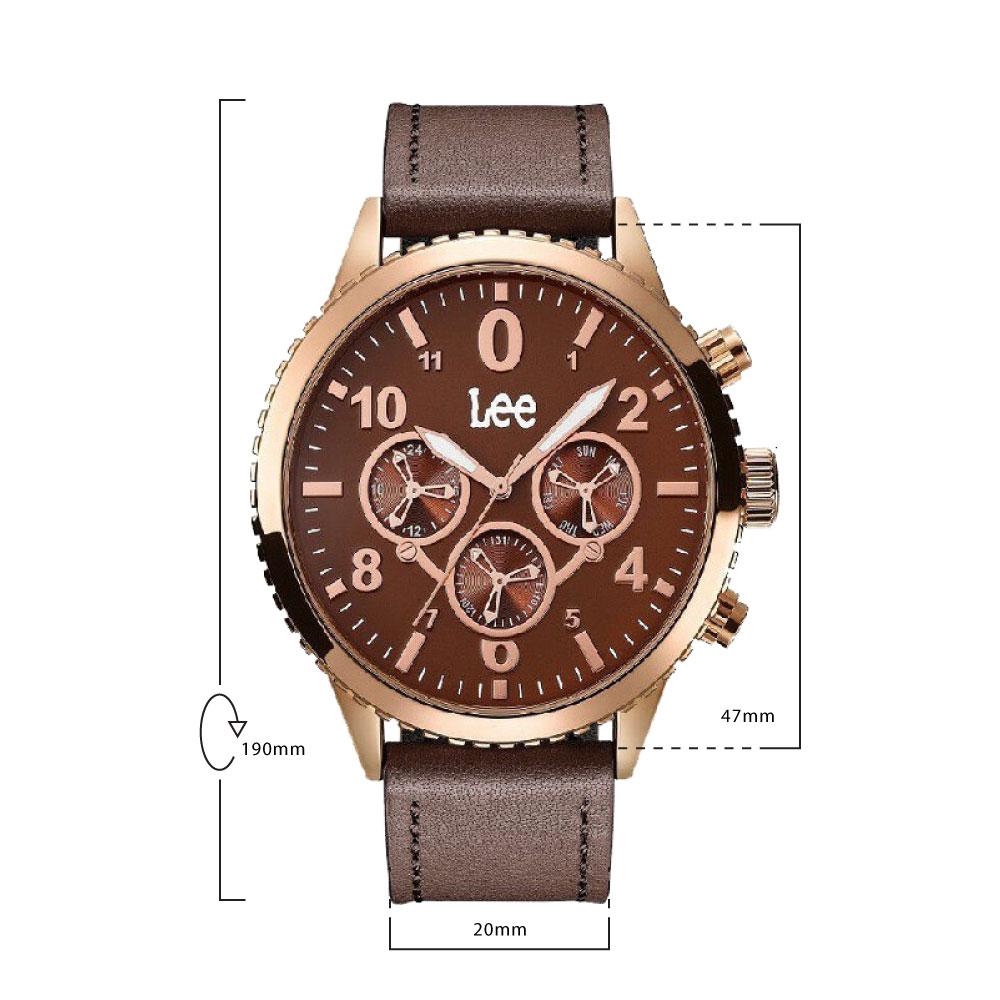 นาฬิกาข้อมือผู้ชาย LEE LEF-M144ARL5-5R