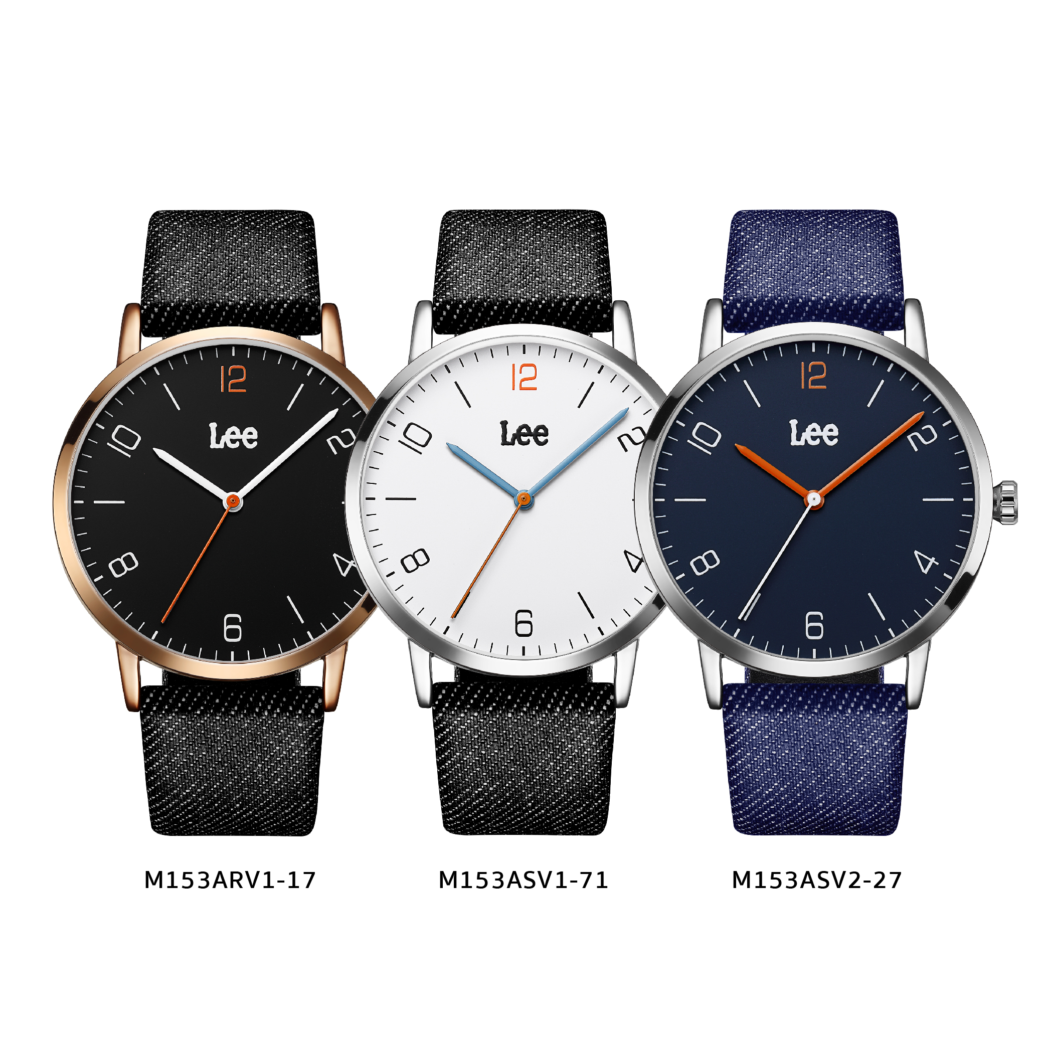 นาฬิกาข้อมือผู้ชาย LEE LEF-M153ASV2-27