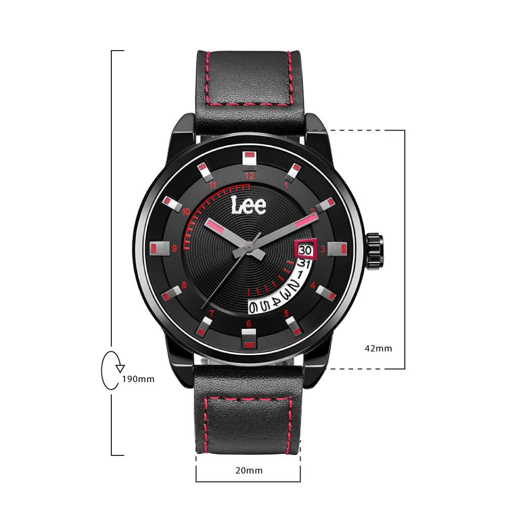 นาฬิกาข้อมือผู้ชาย LEE LES-M31BBL1-14