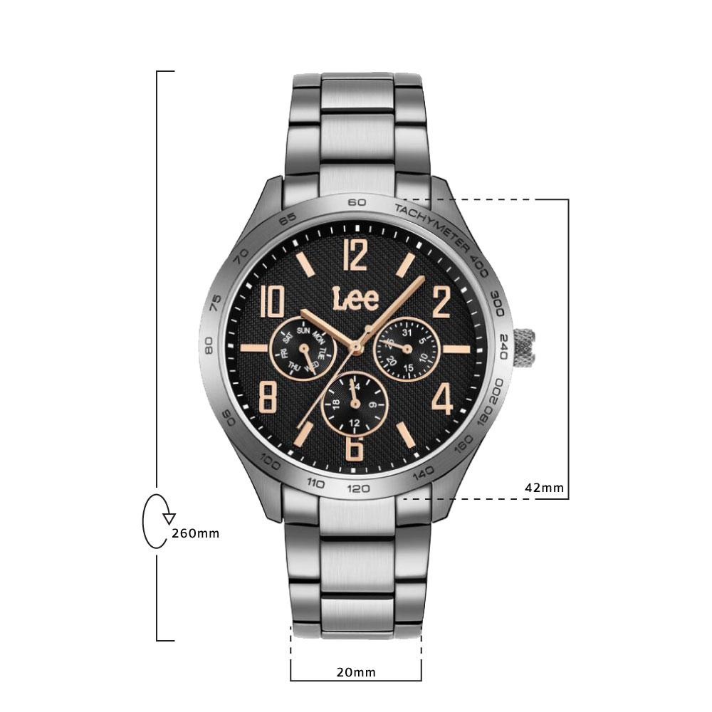 นาฬิกาข้อมือผู้ชาย LEE LEF-M33DSDS-1R