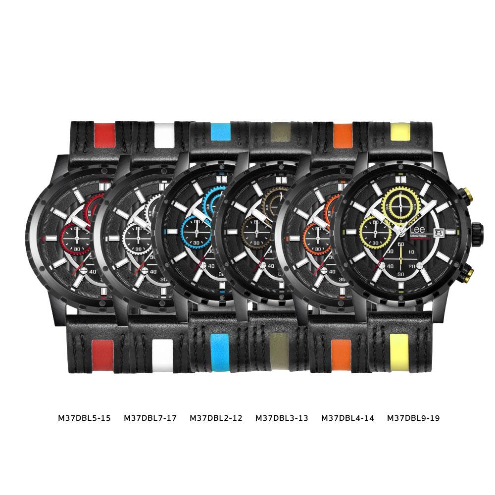 นาฬิกาข้อมือผู้ชาย LEE LES-M37DBL3-13