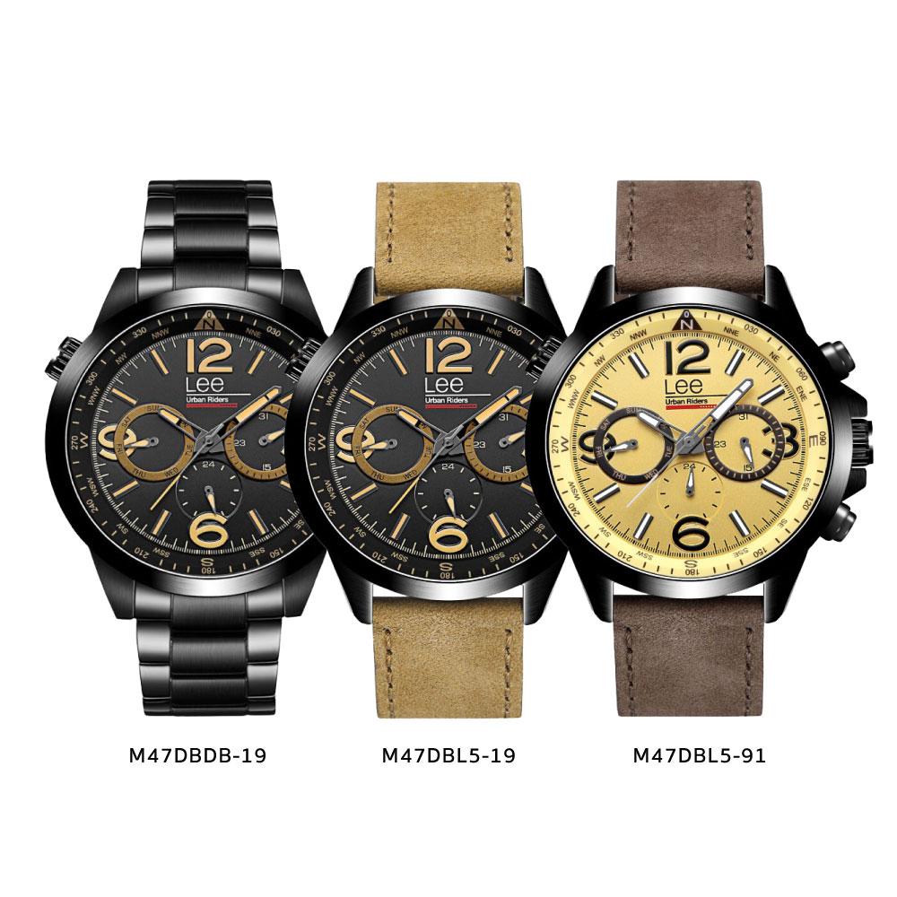 นาฬิกาข้อมือผู้ชาย LEE LES-M47DBL5-91