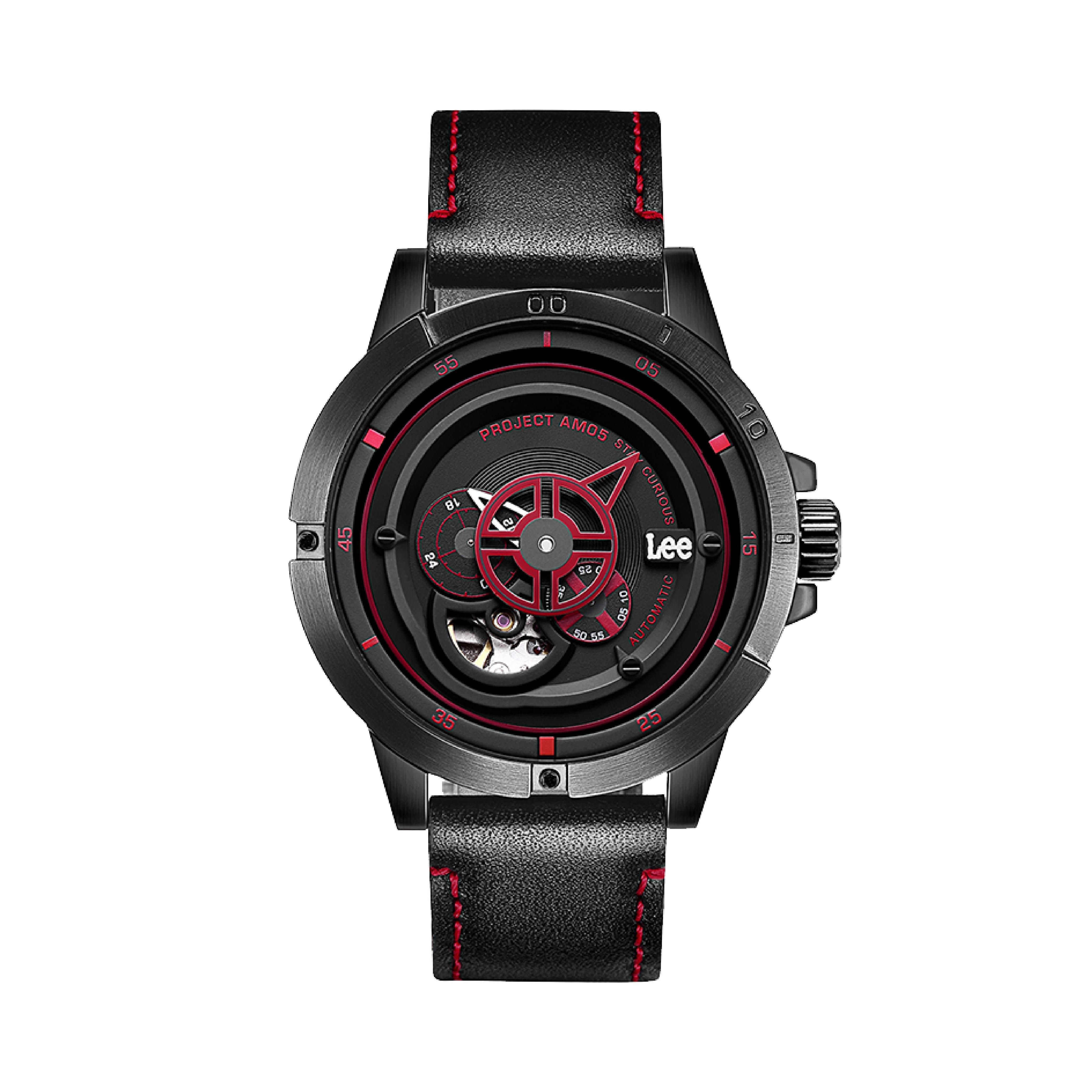 นาฬิกาข้อมือผู้ชาย LEE LES-M55DBL1-14