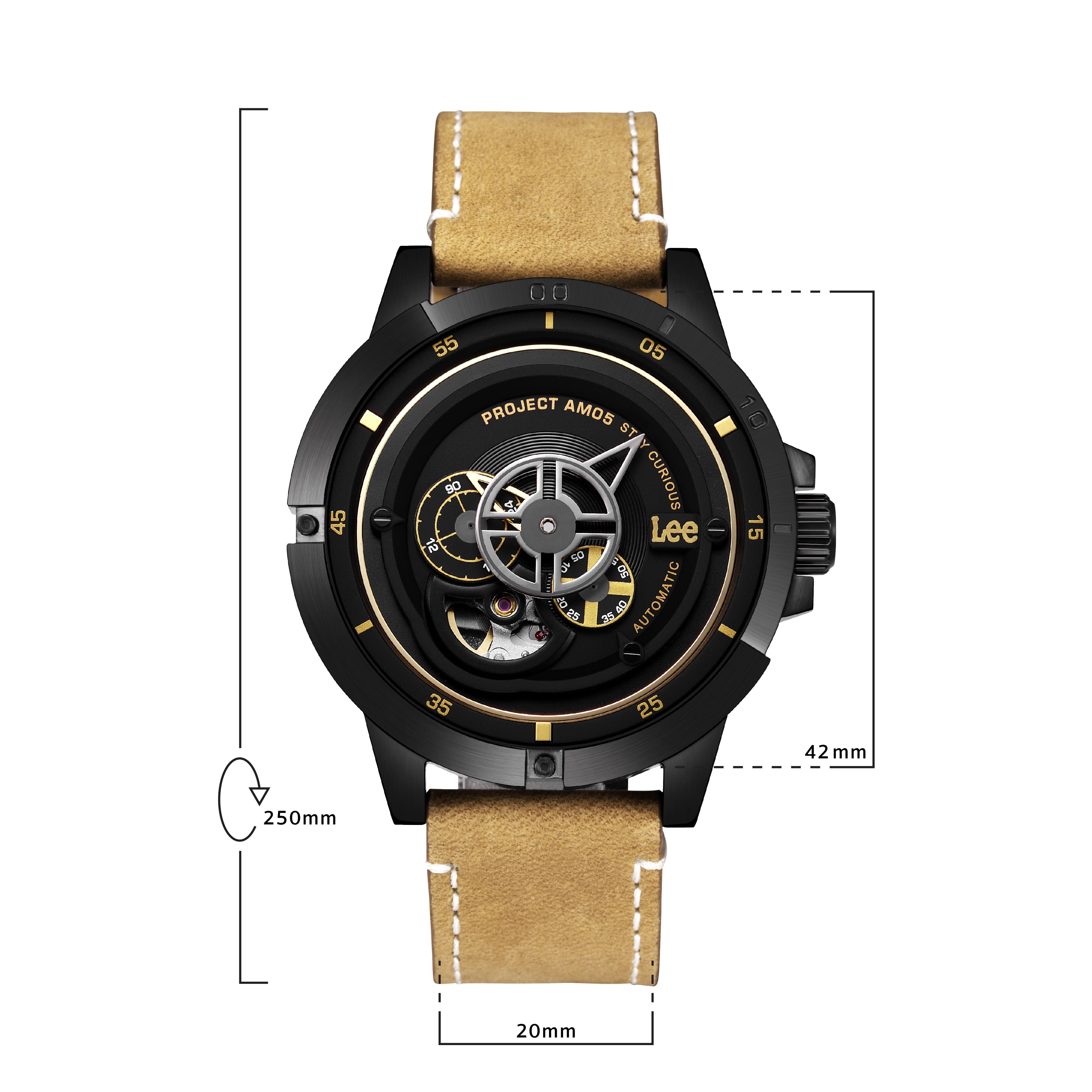 นาฬิกาข้อมือผู้ชาย LEE LES-M55DBL5-1G