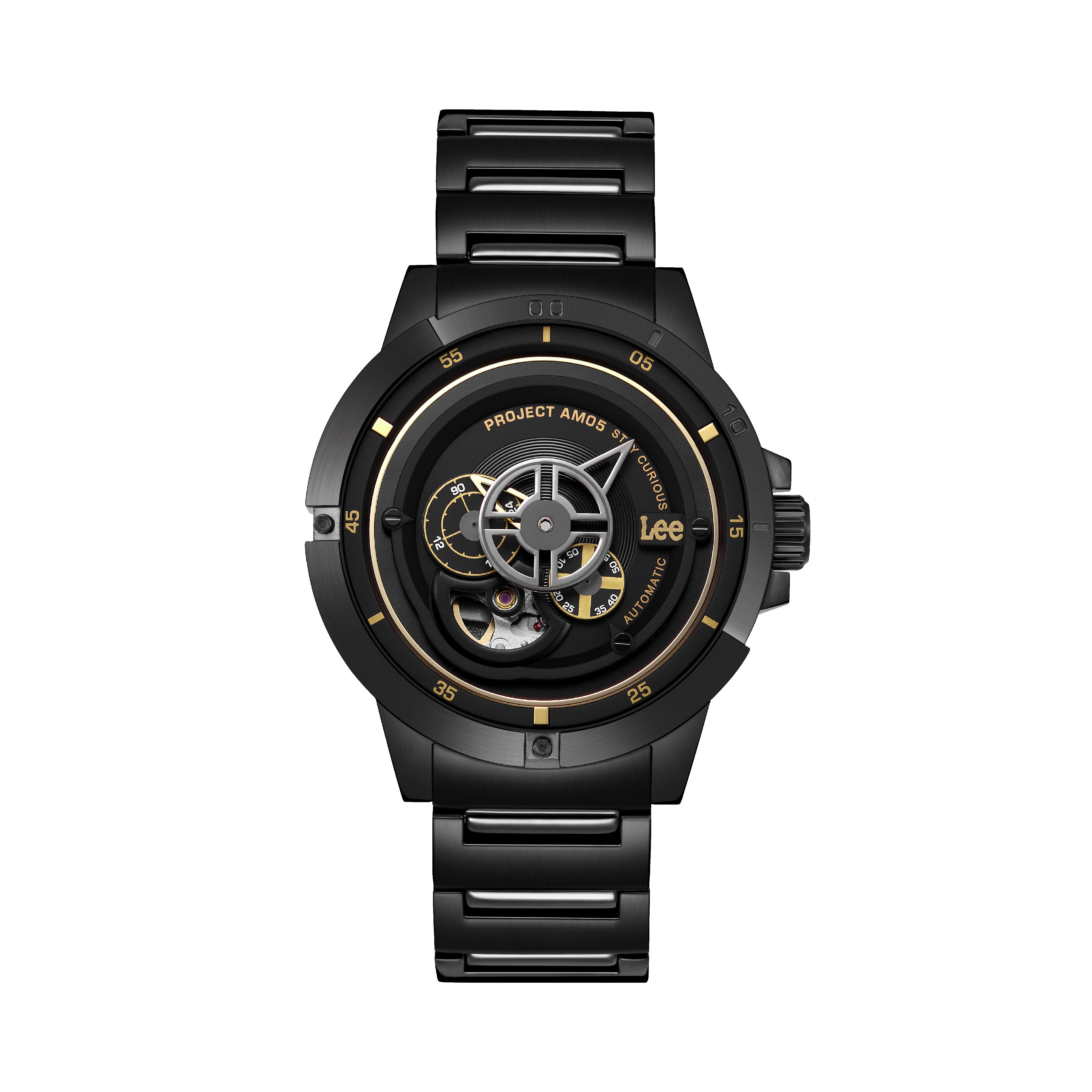 นาฬิกาข้อมือผู้ชาย LEE LES-M55DBDB-1G