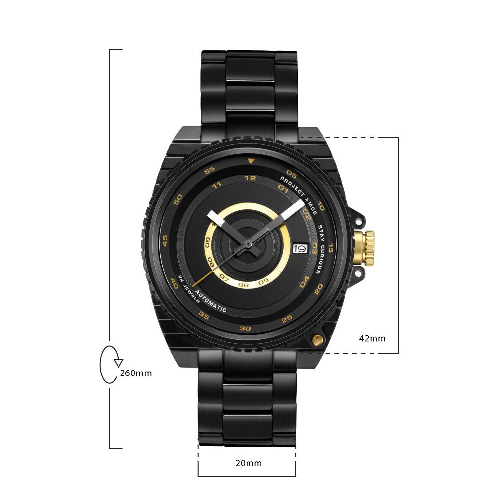 นาฬิกาข้อมือผู้ชาย LEE LES-M57DBDB-1G