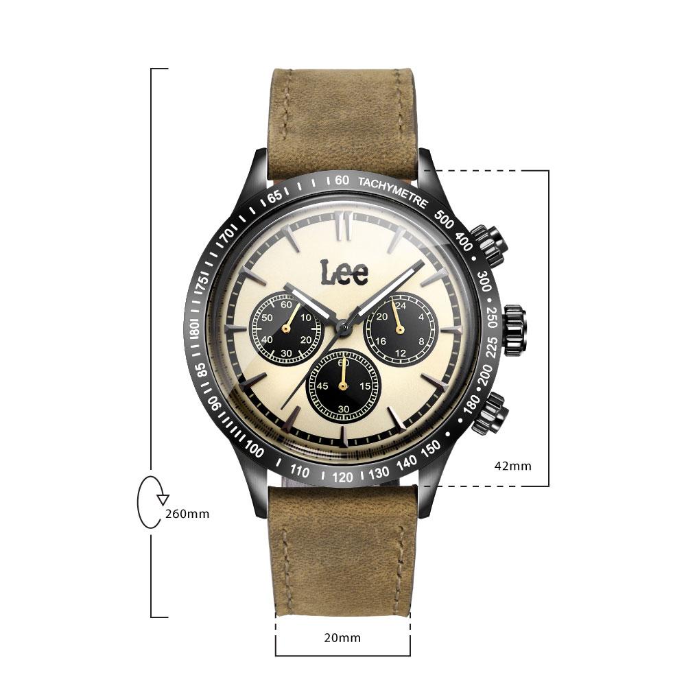 นาฬิกาข้อมือผู้ชาย LEE LES-M61DBL5-9B