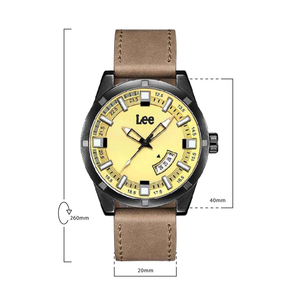 นาฬิกาข้อมือผู้ชาย LEE LES-M69BBL5-91