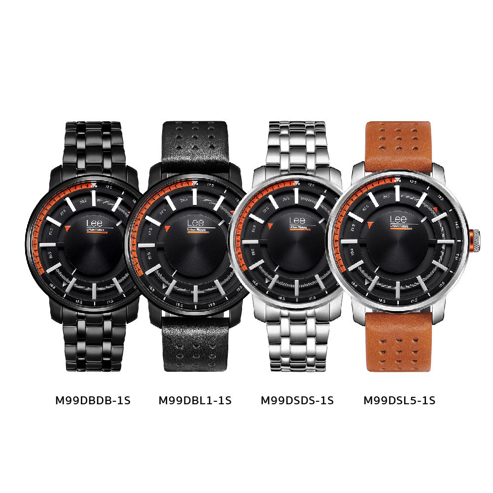 นาฬิกาข้อมือผู้ชาย LEE LES-M99DSL5-1S