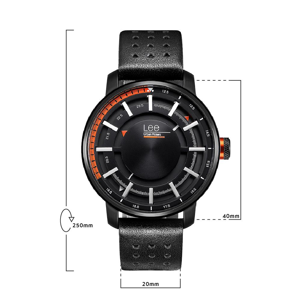 นาฬิกาข้อมือผู้ชาย LEE LES-M99DBL1-1S