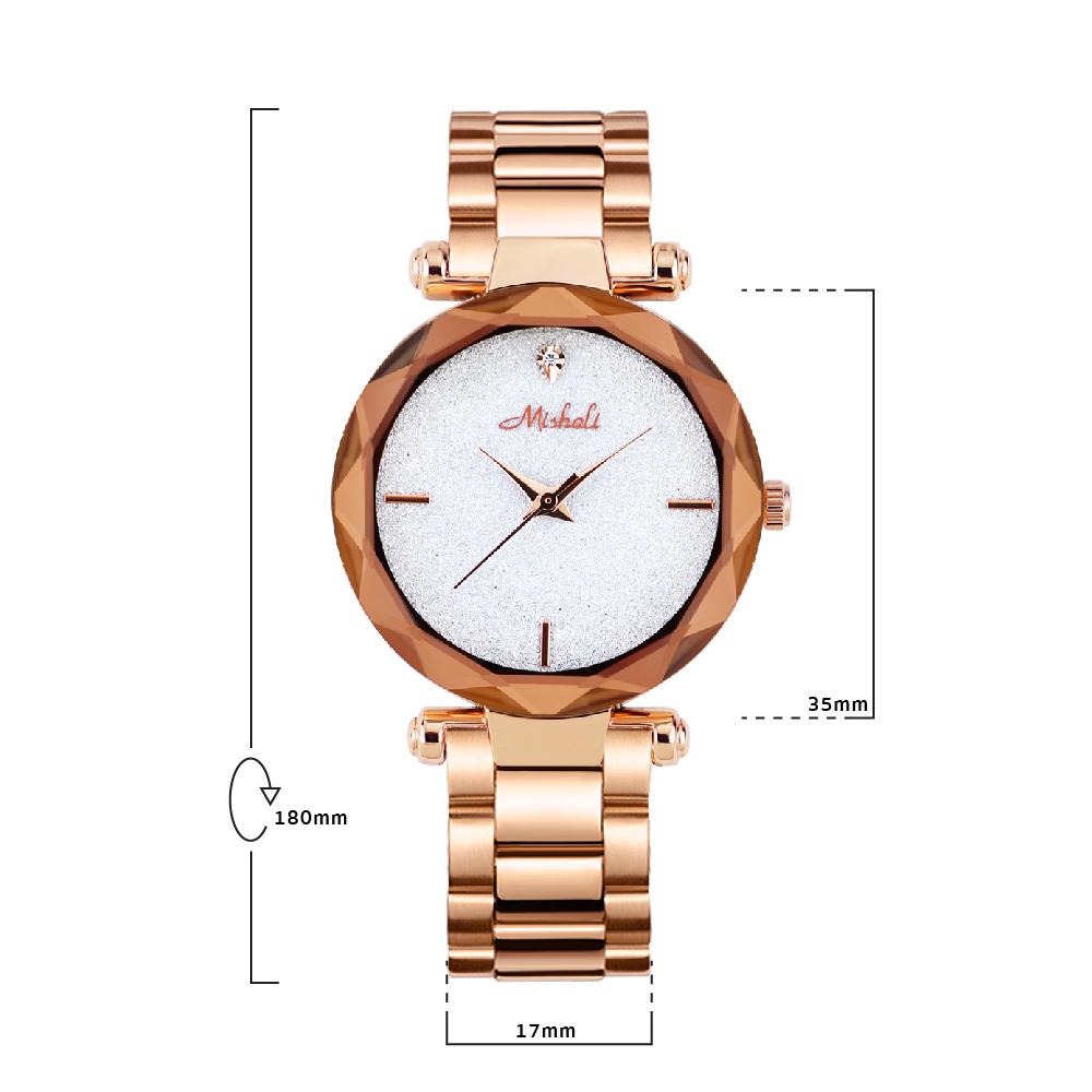 นาฬิกาข้อมือผู้หญิง MISHALI M13552 A