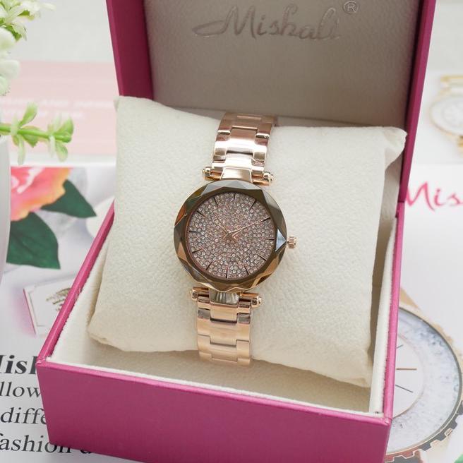 นาฬิกาข้อมือผู้หญิง MISHALI M13552B B