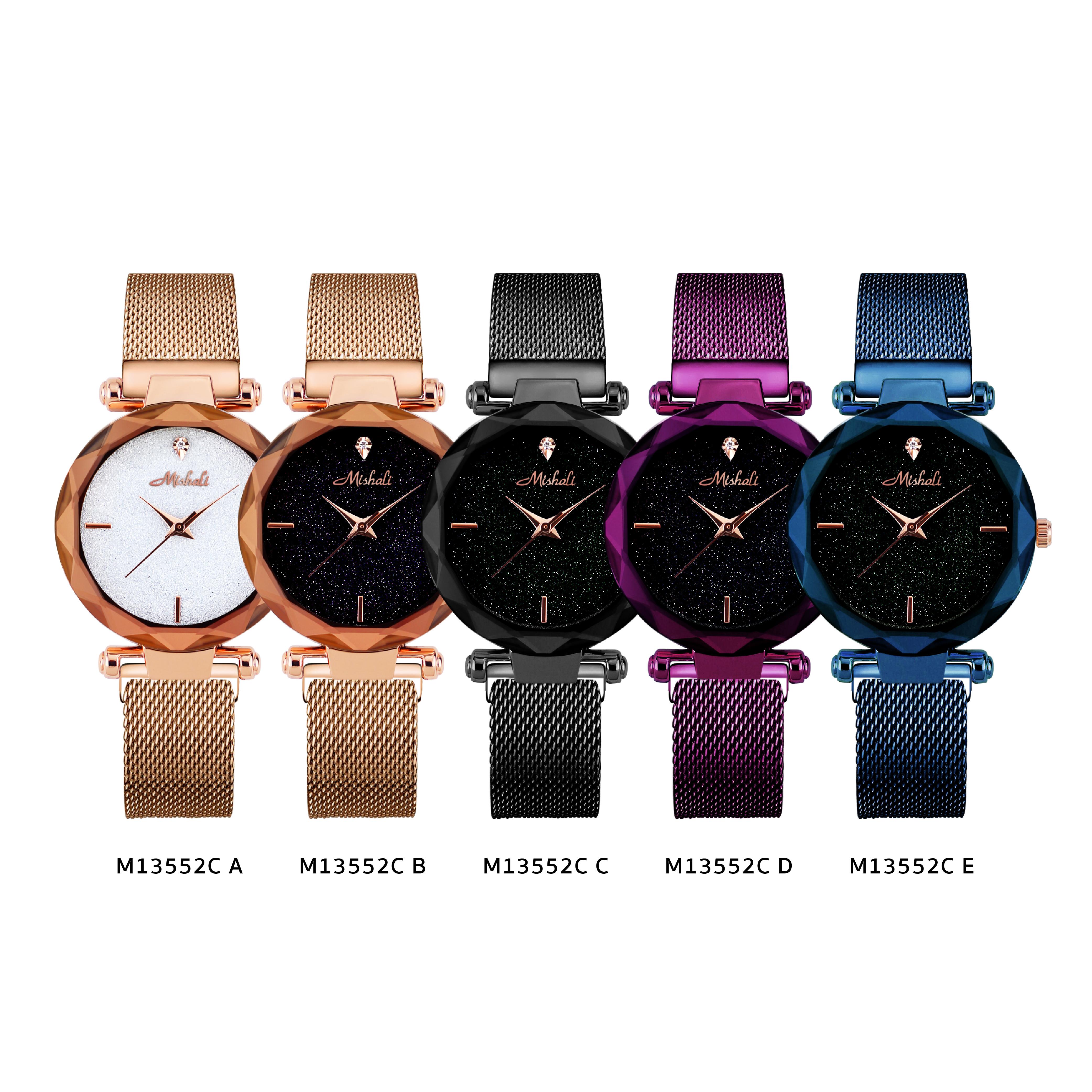 นาฬิกาข้อมือผู้หญิง MISHALI M13552C E
