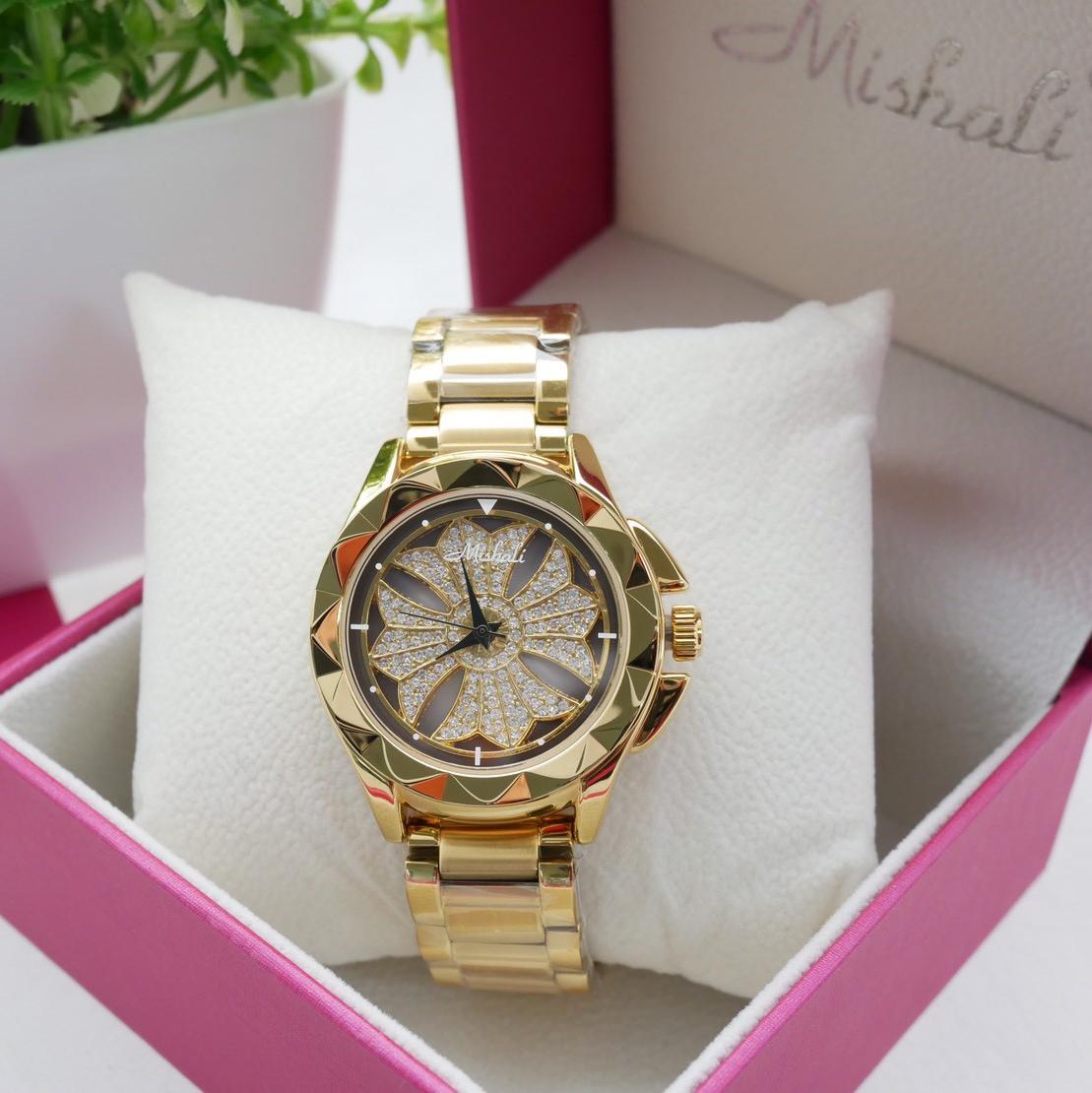นาฬิกาข้อมือผู้หญิง MISHALI M13980A B