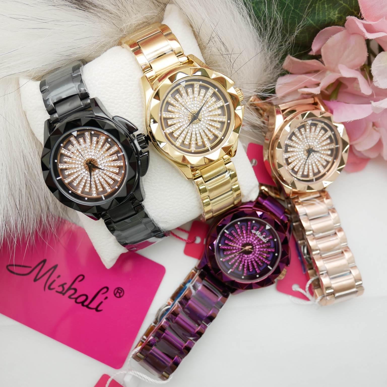 นาฬิกาข้อมือผู้หญิง MISHALI M13980C A