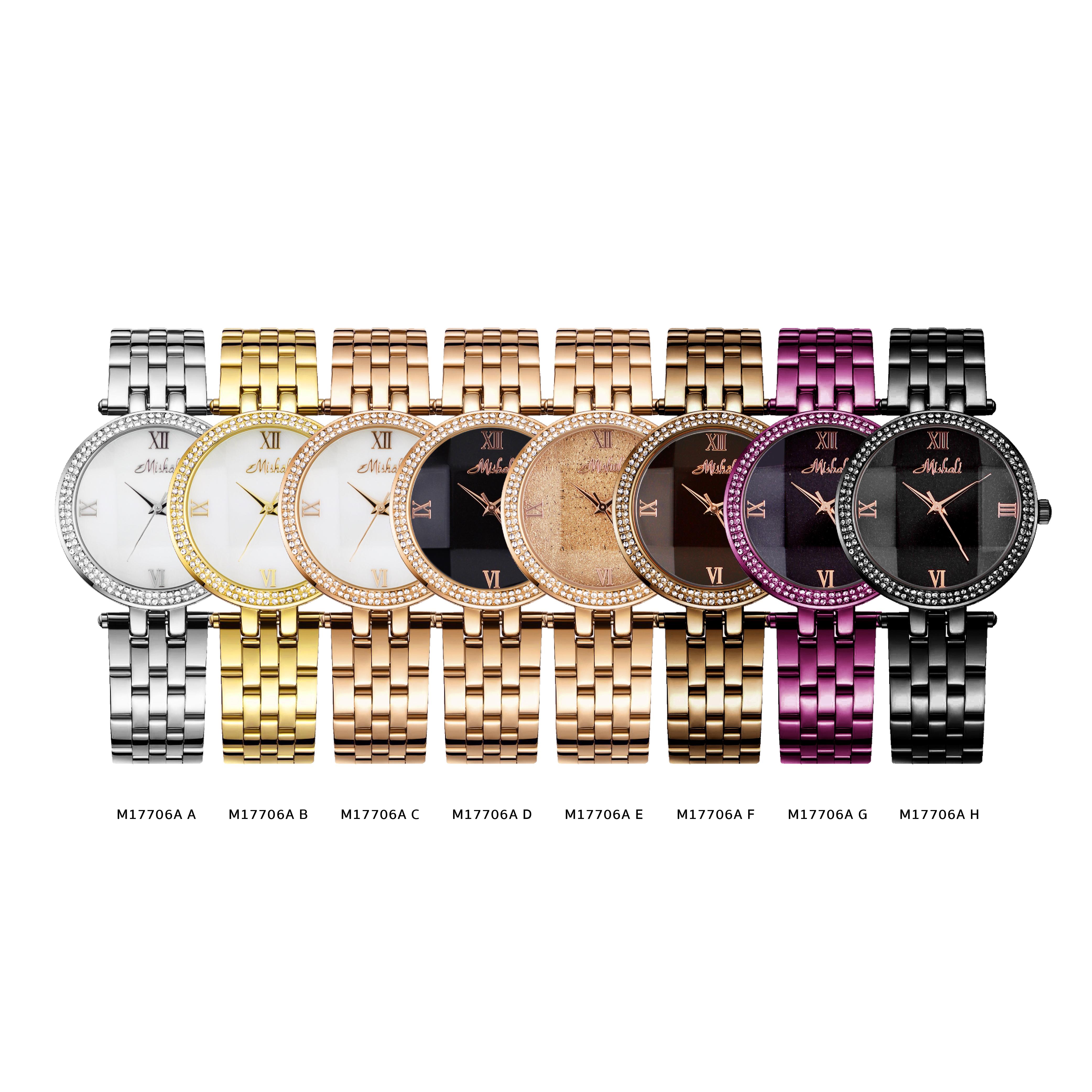 นาฬิกาข้อมือผู้หญิง MISHALI M17706A D