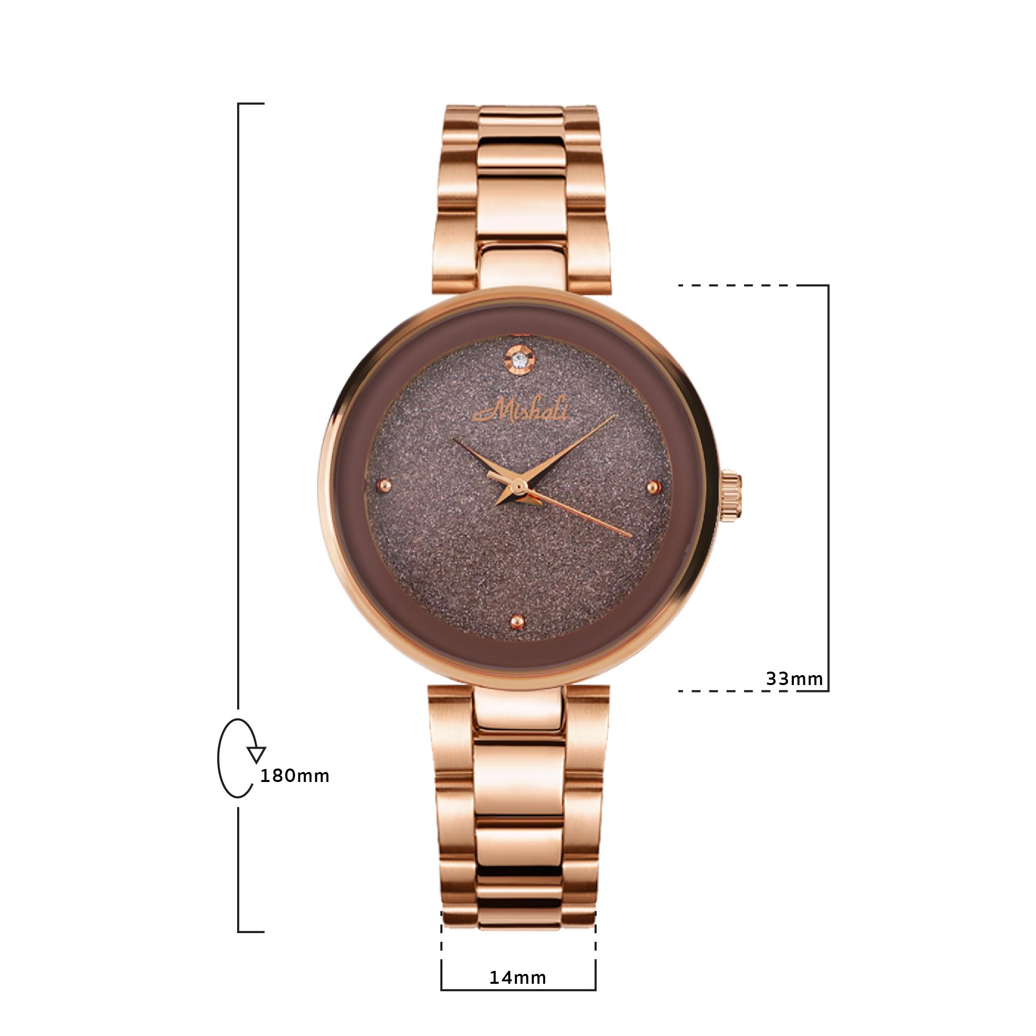 นาฬิกาข้อมือผู้หญิง MISHALI M18005 F