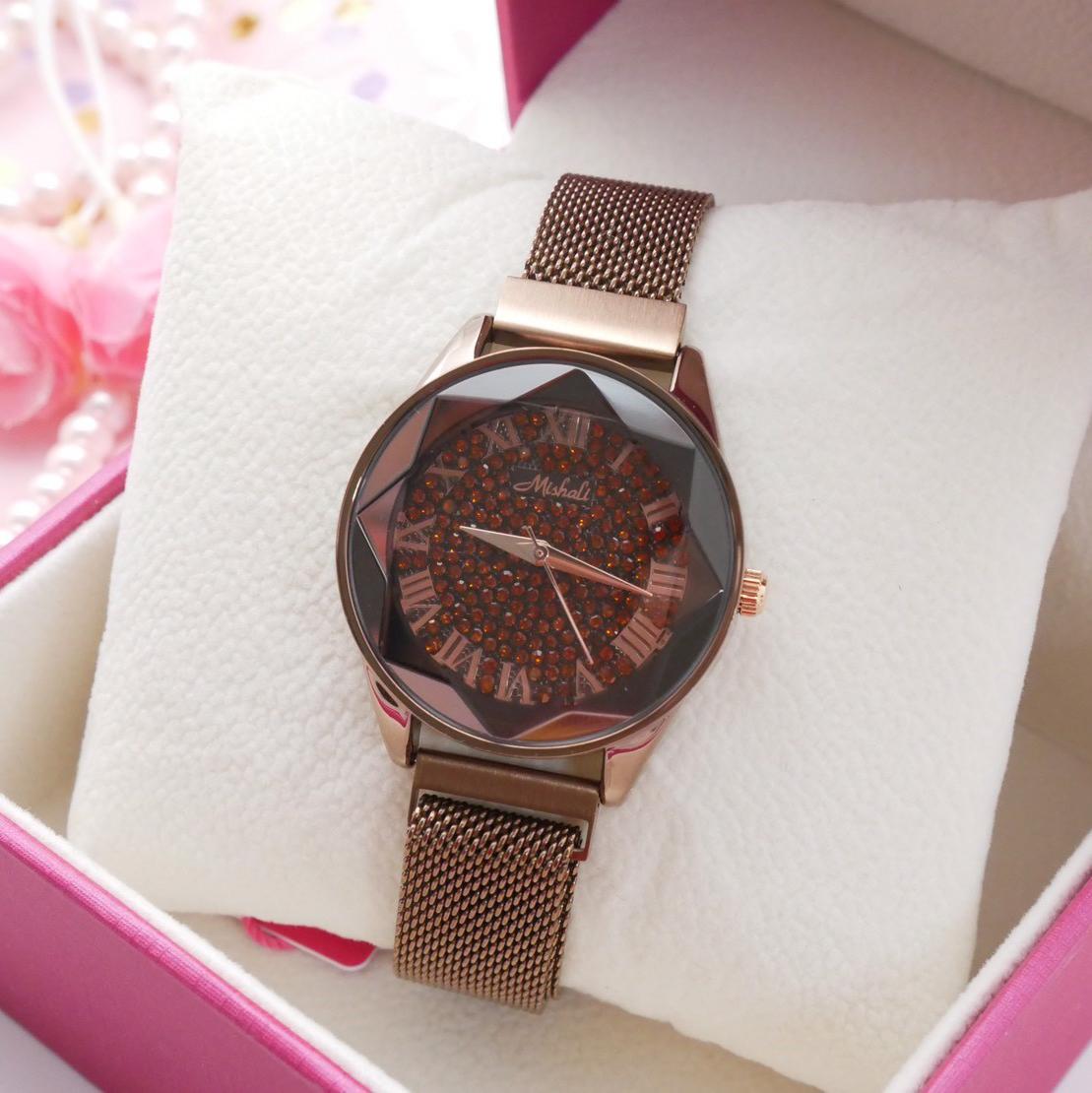 นาฬิกาข้อมือผู้หญิง MISHALI M18011B B
