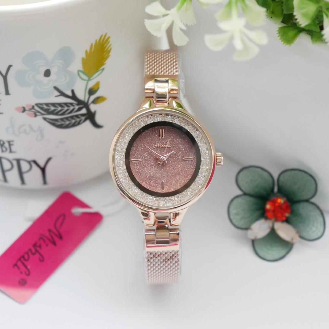 นาฬิกาข้อมือผู้หญิง MISHALI M18027 B